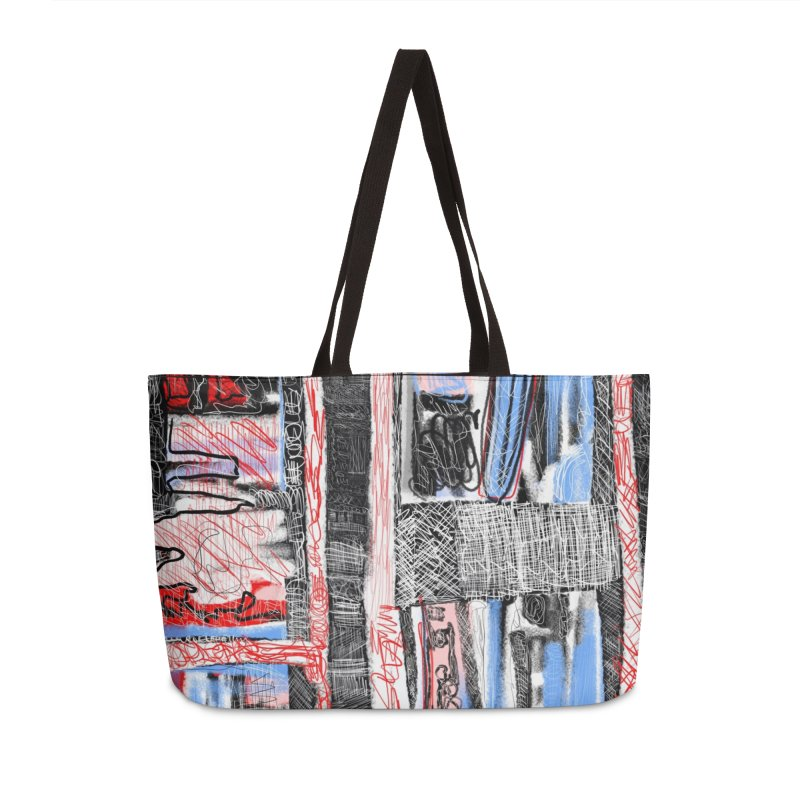 InterStellar Heart Transplant in Weekender Bag by Abstract Bag Company