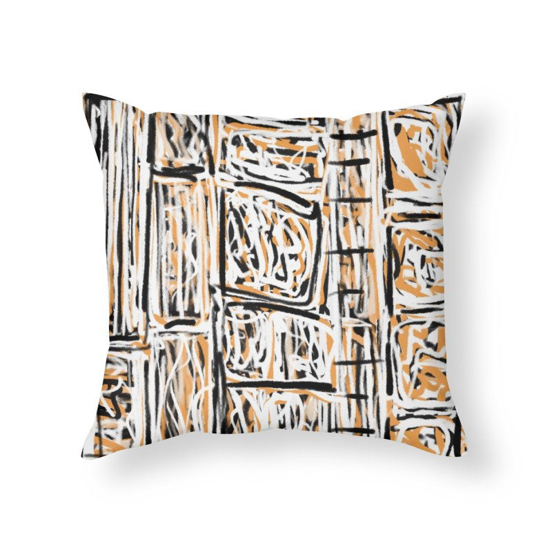 Boxers Not Briefs Home Throw Pillow by Abstract Bag Company