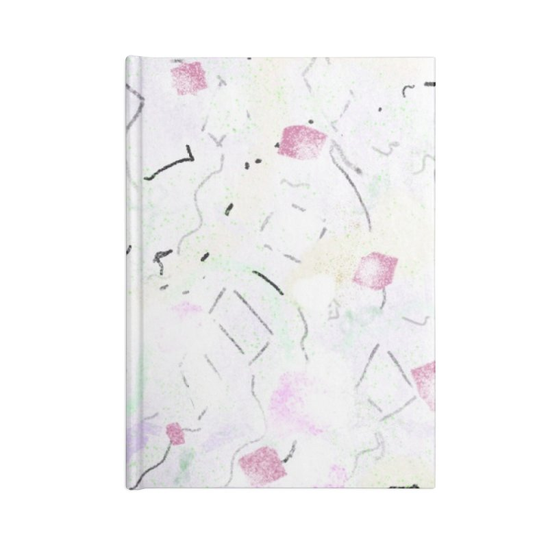 Flock of Kites for Hungry Trees Accessories Notebook by Abstract Bag Company