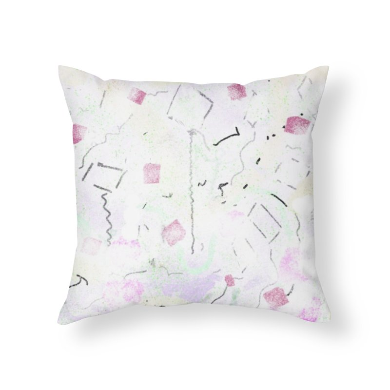 Flock of Kites for Hungry Trees Home Throw Pillow by Abstract Bag Company