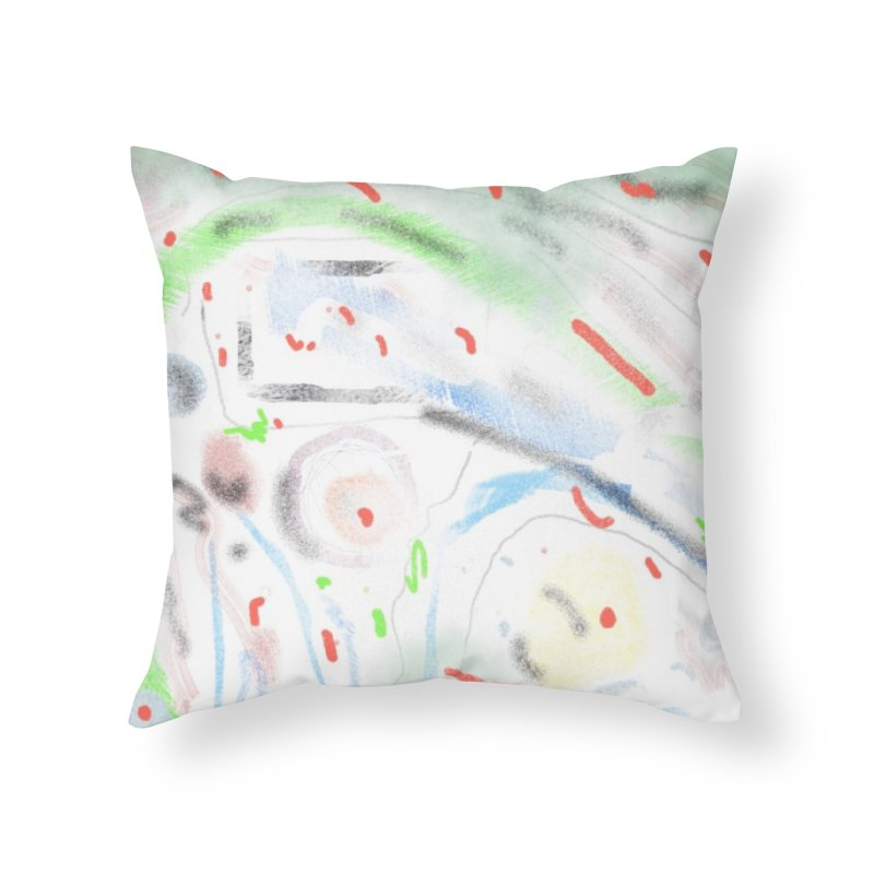 Your Windsheild's a Battlefield Home Throw Pillow by Abstract Bag Company