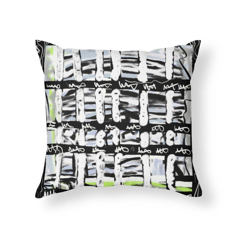 B&W Kodak Moment Home Throw Pillow by Abstract Bag Company