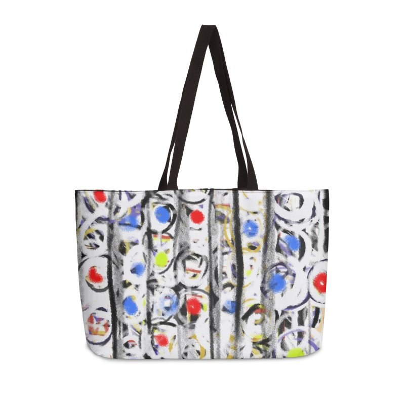 Gumballs and Dentures in Weekender Bag by Abstract Bag Company