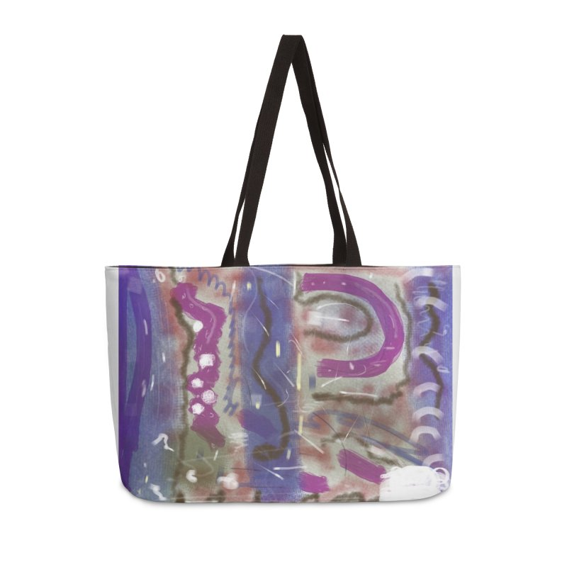 A Purple Cape for Lois Lane Accessories Bag by Abstract Bag Company