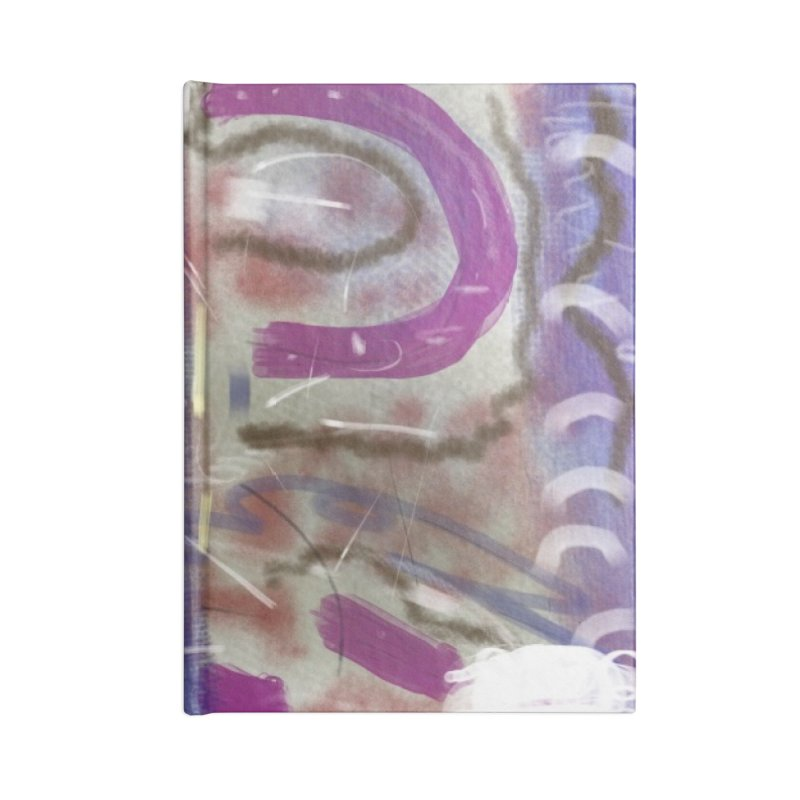 A Purple Cape for Lois Lane Accessories Notebook by Abstract Bag Company