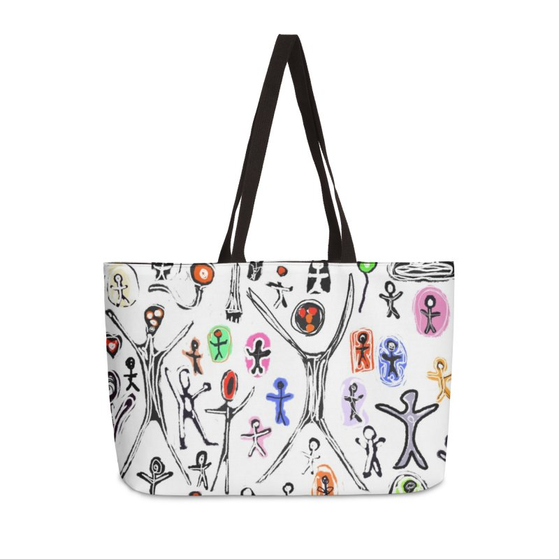 Alien Abductions Gone Wild in Weekender Bag by Abstract Bag Company