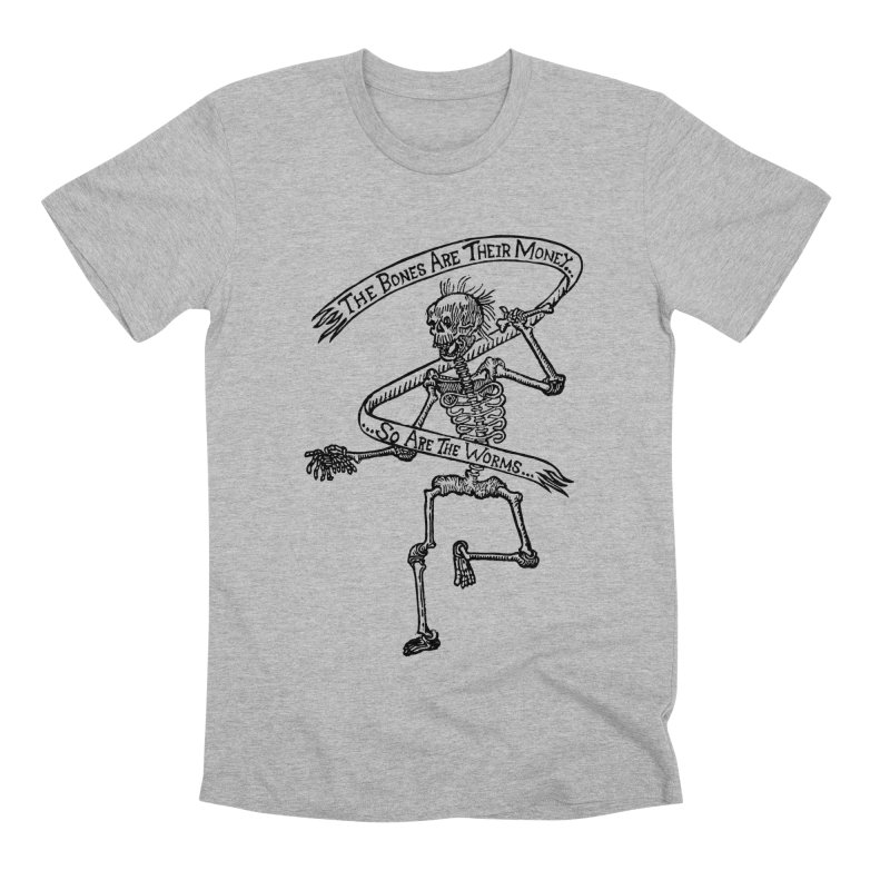 The Night the Skeletons Came to Life Men's Premium T-Shirt by The Corey Press