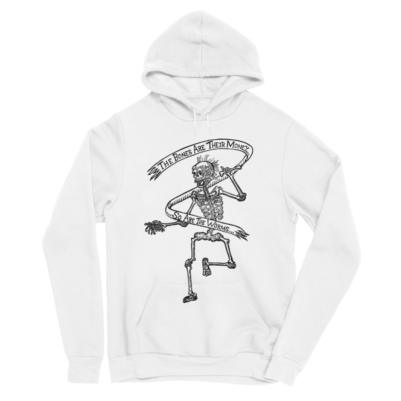 The Night the Skeletons Came to Life Women's Sponge Fleece Pullover Hoody by The Corey Press