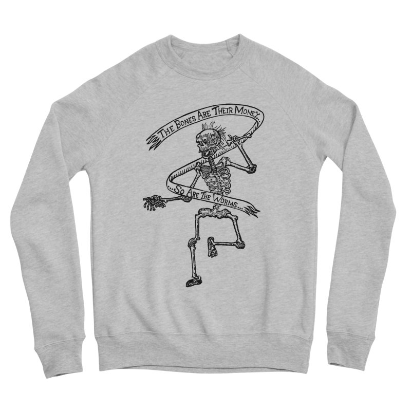 The Night the Skeletons Came to Life Women's Sponge Fleece Sweatshirt by The Corey Press