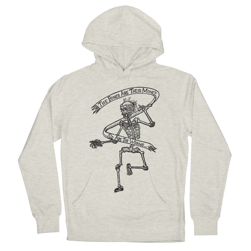 The Night the Skeletons Came to Life Men's French Terry Pullover Hoody by The Corey Press