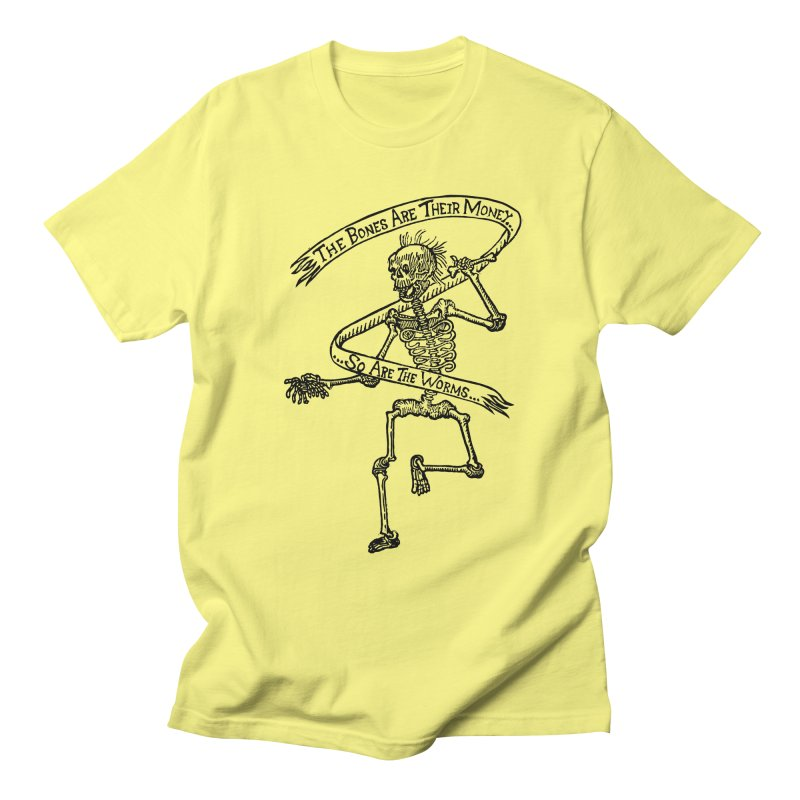 The Night the Skeletons Came to Life Women's Regular Unisex T-Shirt by The Corey Press