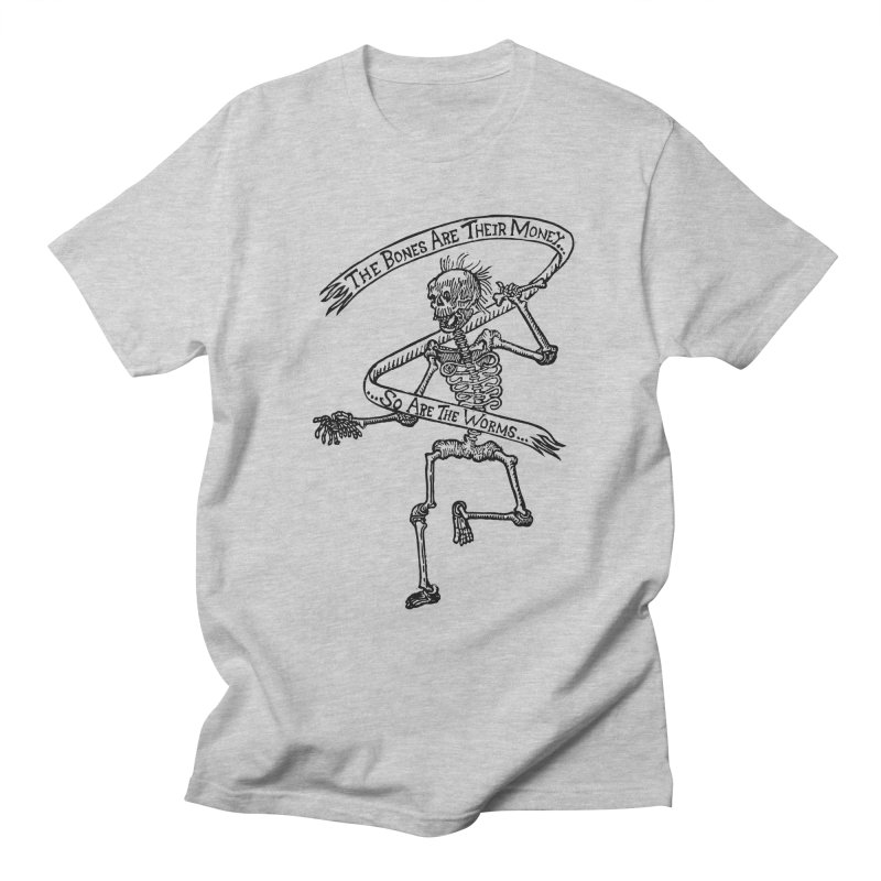 The Night the Skeletons Came to Life Men's Regular T-Shirt by The Corey Press