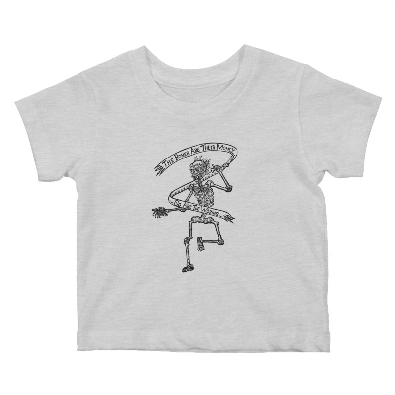The Night the Skeletons Came to Life Kids Baby T-Shirt by The Corey Press