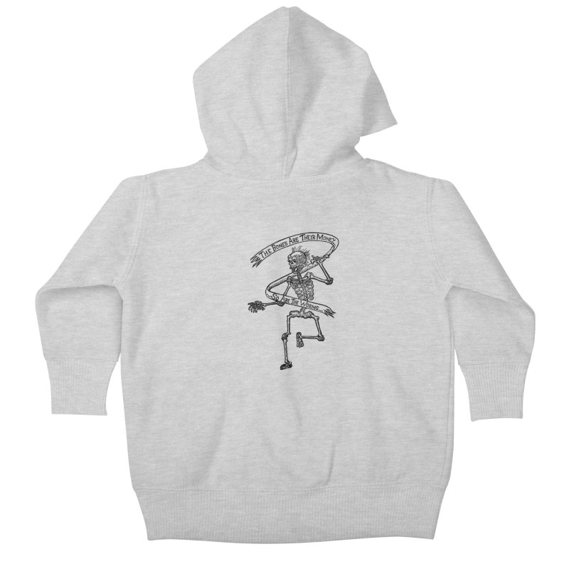 The Night the Skeletons Came to Life Kids Baby Zip-Up Hoody by The Corey Press