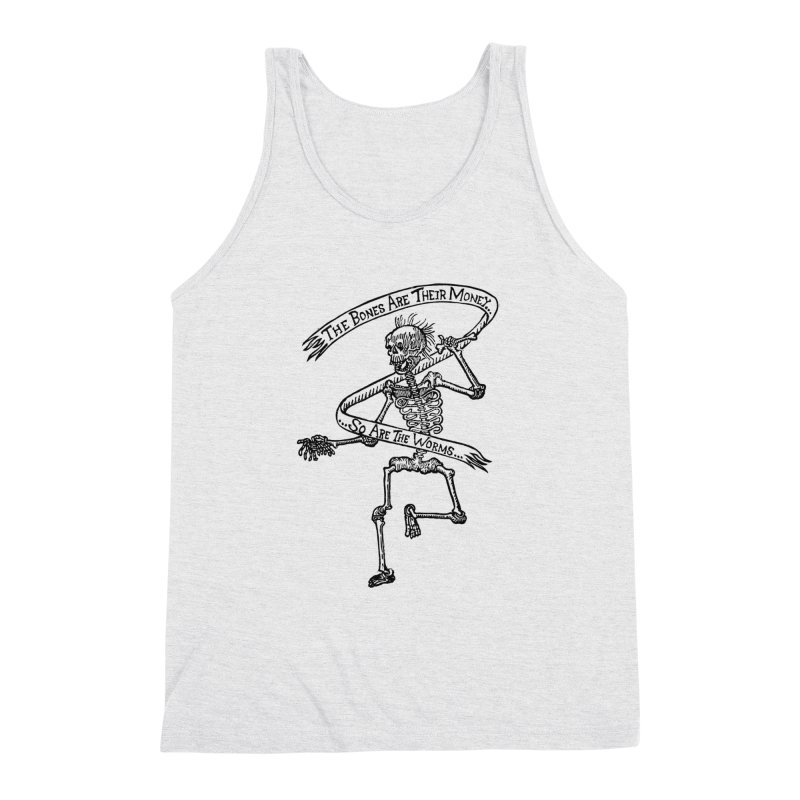 The Night the Skeletons Came to Life Men's Triblend Tank by The Corey Press