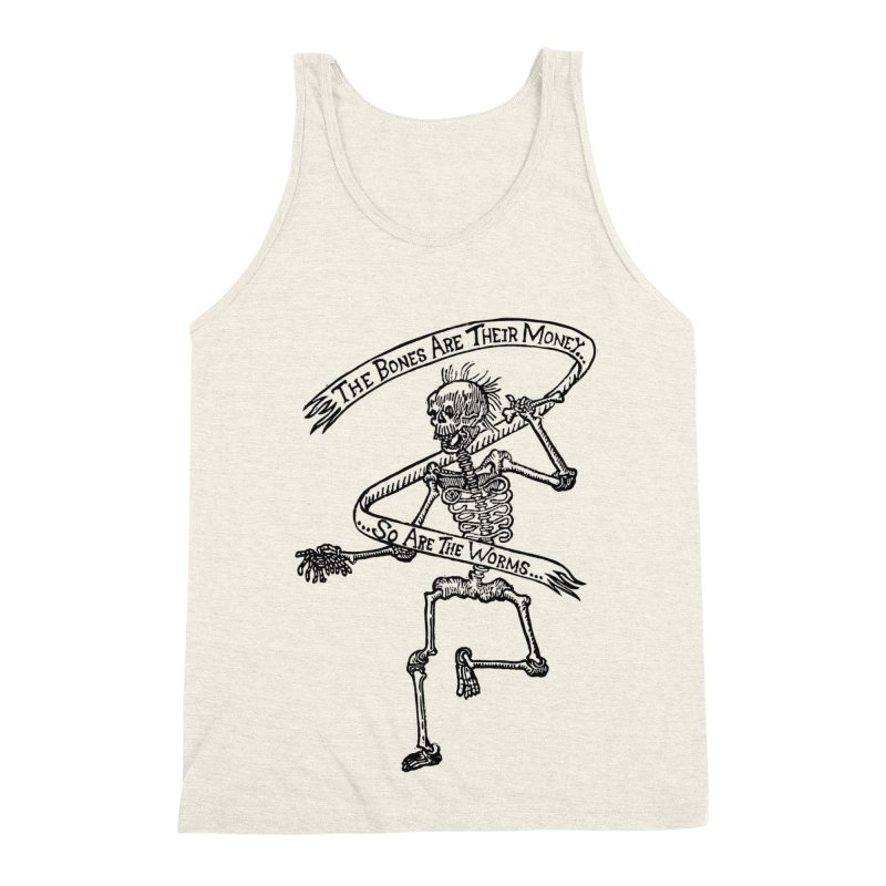 The Night the Skeletons Came to Life Men's Tank by The Corey Press