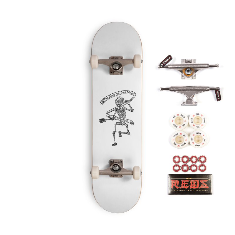 The Night the Skeletons Came to Life Accessories Complete - Pro Skateboard by The Corey Press