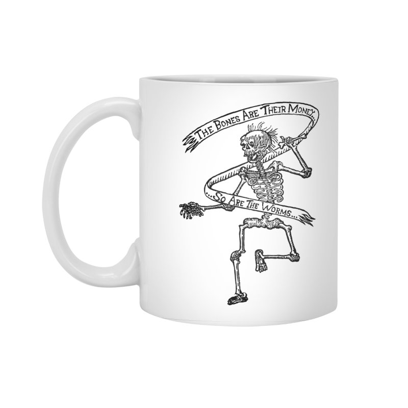 The Night the Skeletons Came to Life Accessories Standard Mug by The Corey Press