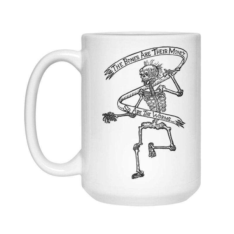 The Night the Skeletons Came to Life Accessories Mug by The Corey Press