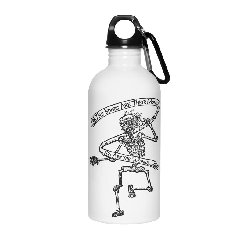 The Night the Skeletons Came to Life Accessories Water Bottle by The Corey Press