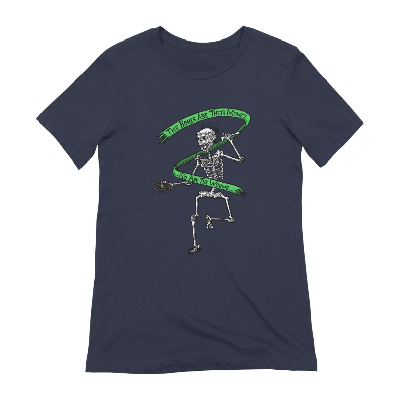 The Night the Skeletons Came to Life Women's Extra Soft T-Shirt by The Corey Press