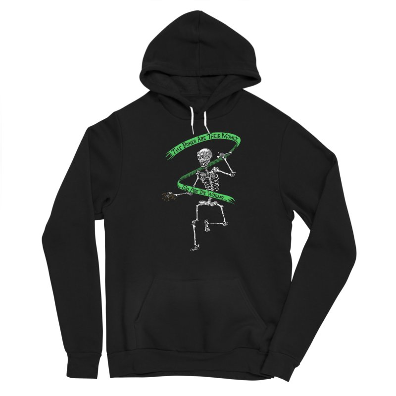 The Night the Skeletons Came to Life Men's Sponge Fleece Pullover Hoody by The Corey Press