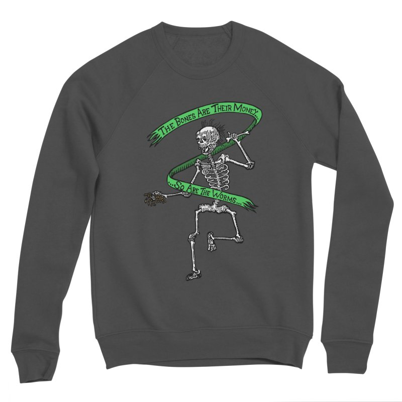 The Night the Skeletons Came to Life Women's Sponge Fleece Sweatshirt by The Corey Press