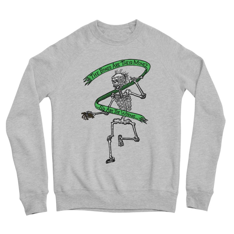 The Night the Skeletons Came to Life Men's Sponge Fleece Sweatshirt by The Corey Press