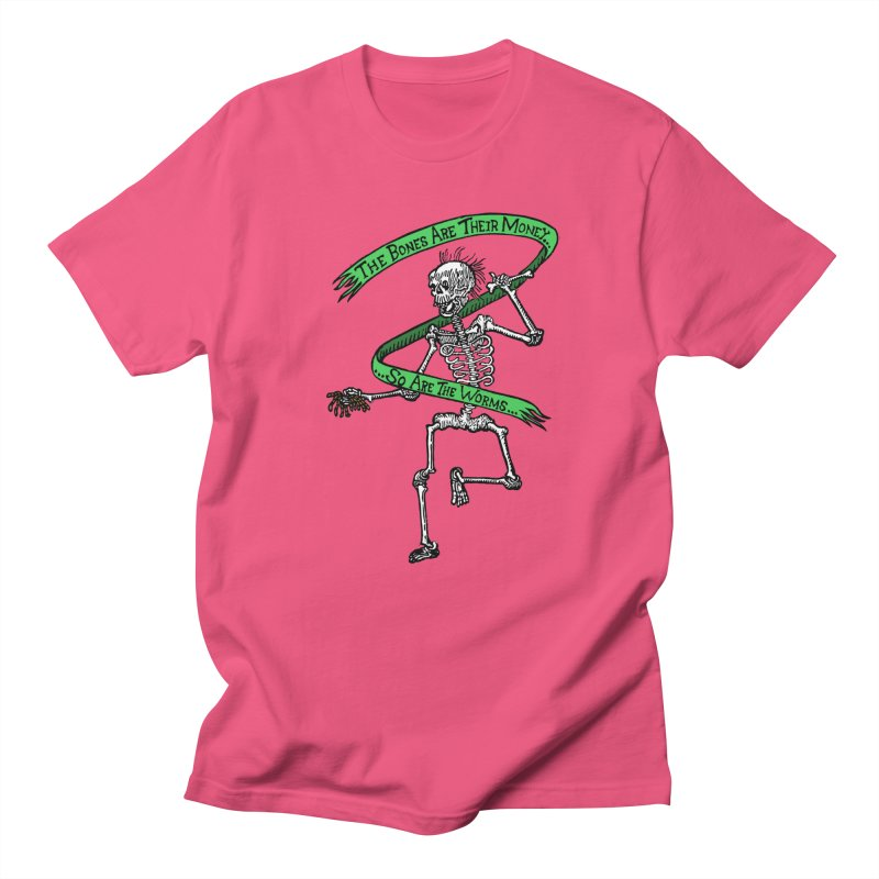 The Night the Skeletons Came to Life Men's T-Shirt by The Corey Press