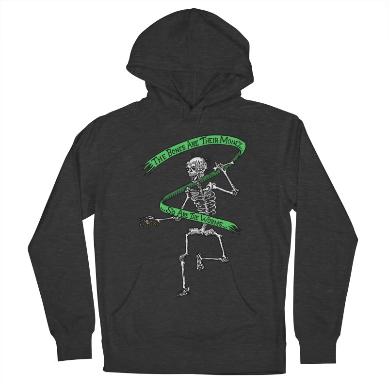 The Night the Skeletons Came to Life Women's French Terry Pullover Hoody by The Corey Press