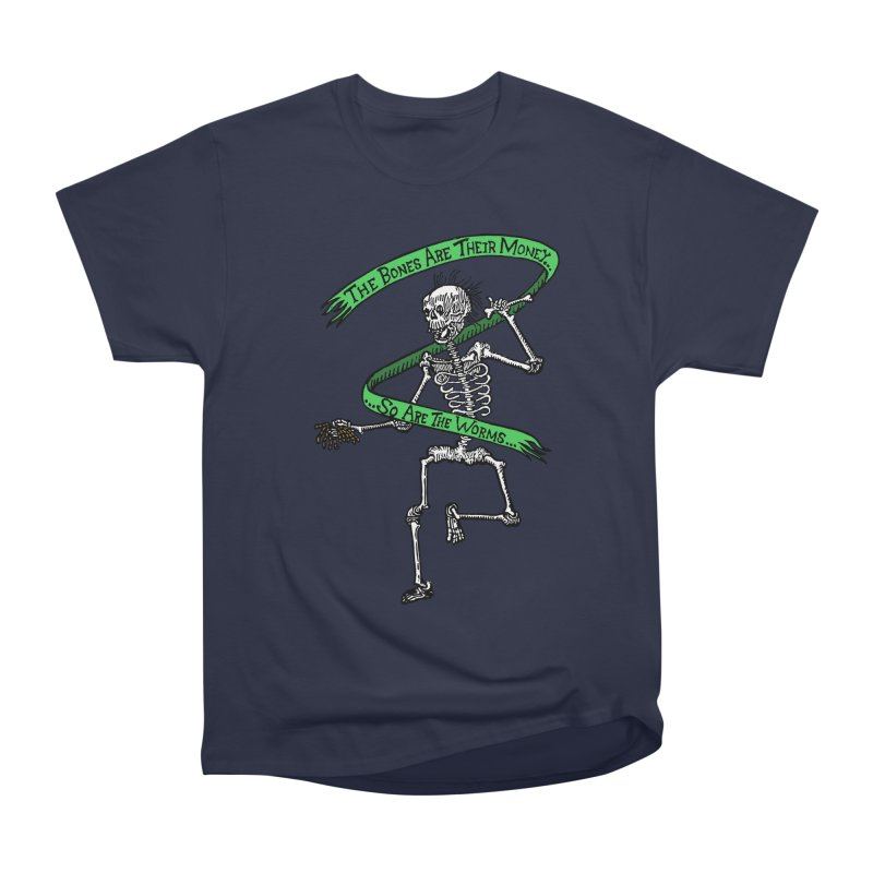 The Night the Skeletons Came to Life Women's Heavyweight Unisex T-Shirt by The Corey Press