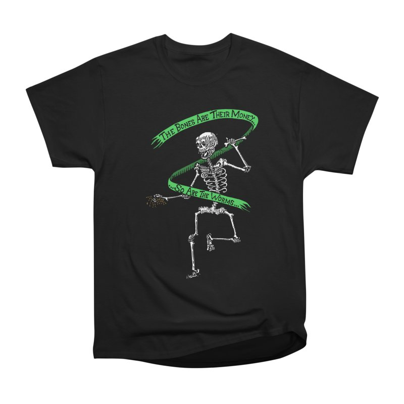 The Night the Skeletons Came to Life Men's Heavyweight T-Shirt by The Corey Press