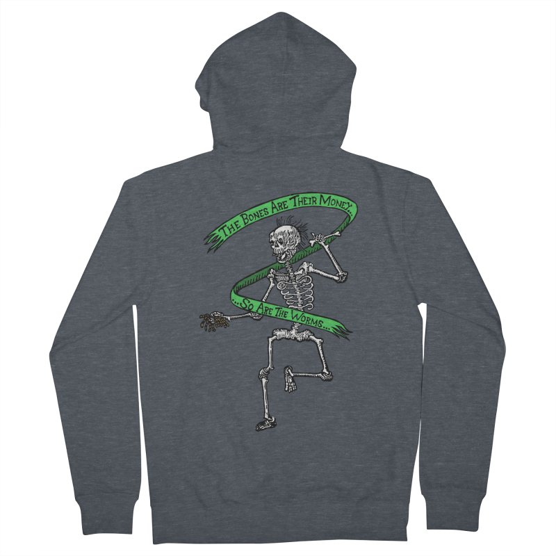 The Night the Skeletons Came to Life Women's French Terry Zip-Up Hoody by The Corey Press