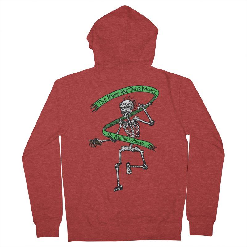 The Night the Skeletons Came to Life Women's Zip-Up Hoody by The Corey Press