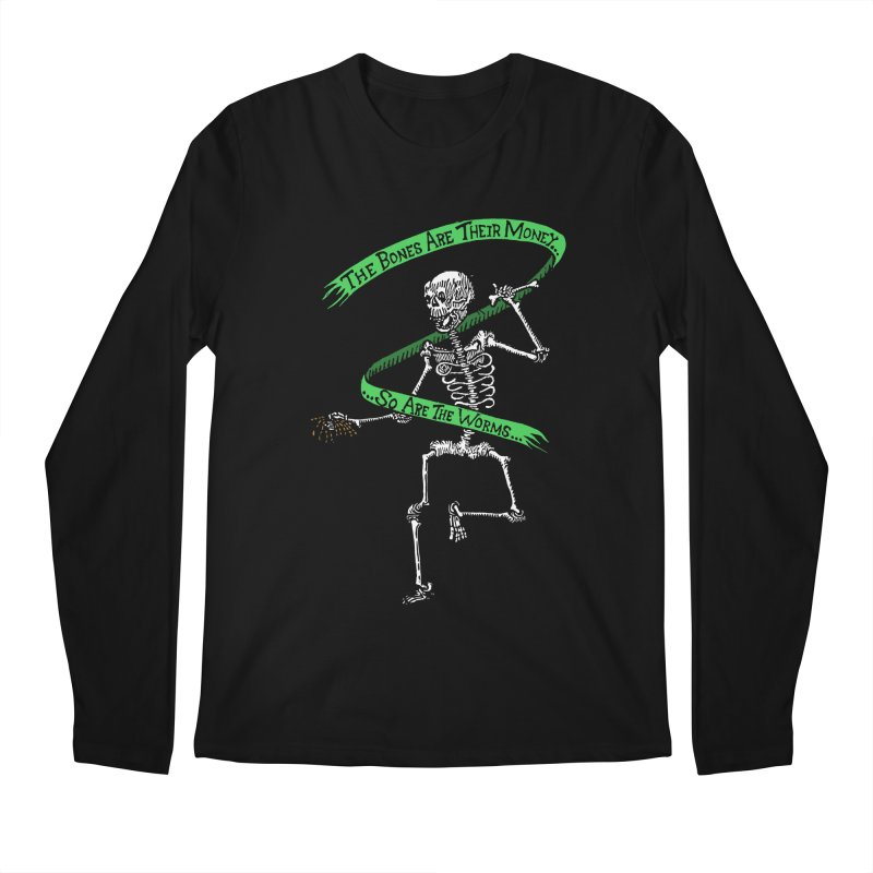 The Night the Skeletons Came to Life Men's Regular Longsleeve T-Shirt by The Corey Press
