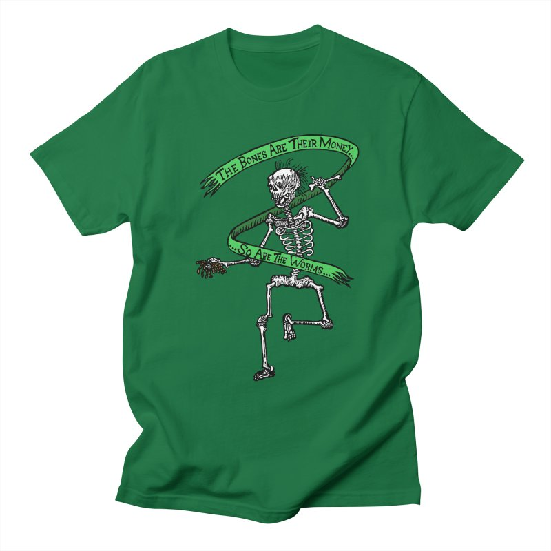 The Night the Skeletons Came to Life Women's T-Shirt by The Corey Press