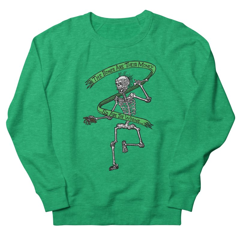 The Night the Skeletons Came to Life Men's French Terry Sweatshirt by The Corey Press