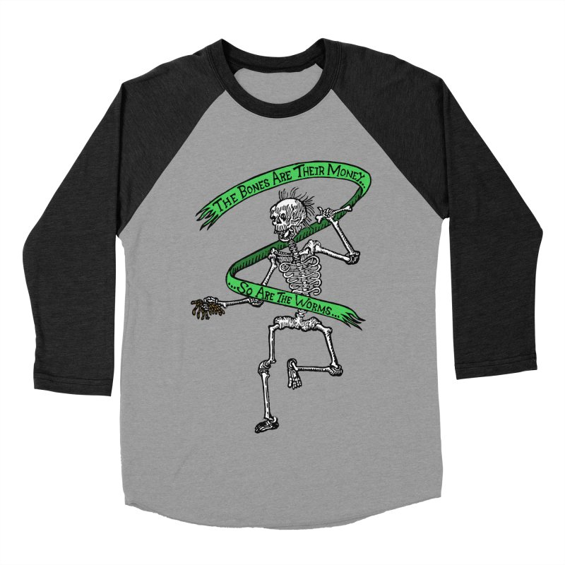 The Night the Skeletons Came to Life Women's Baseball Triblend Longsleeve T-Shirt by The Corey Press