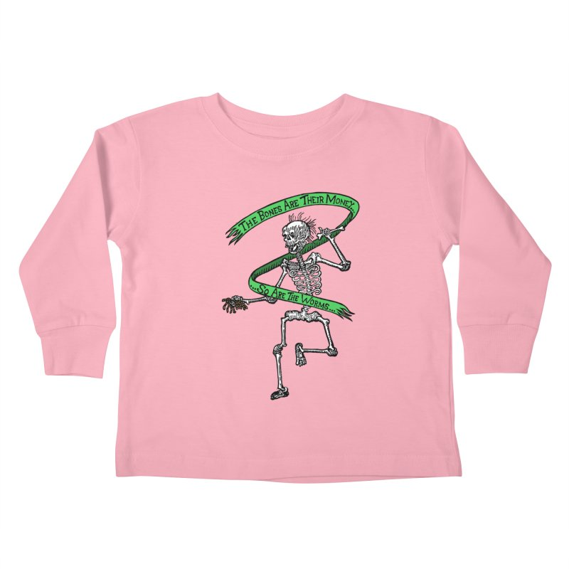 The Night the Skeletons Came to Life Kids Toddler Longsleeve T-Shirt by The Corey Press