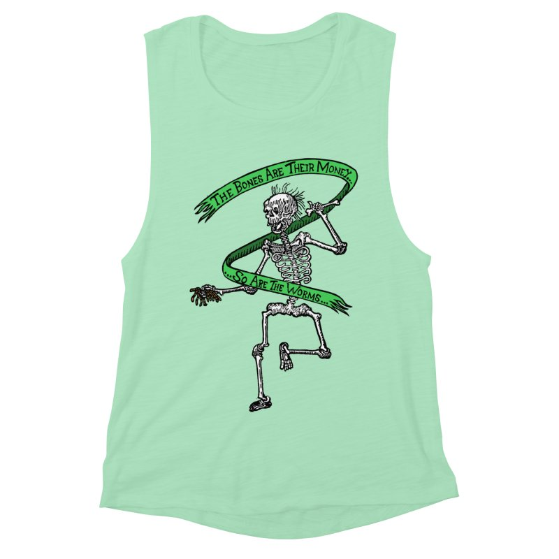 The Night the Skeletons Came to Life Women's Muscle Tank by The Corey Press