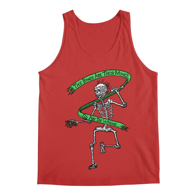 The Night the Skeletons Came to Life Men's Regular Tank by The Corey Press