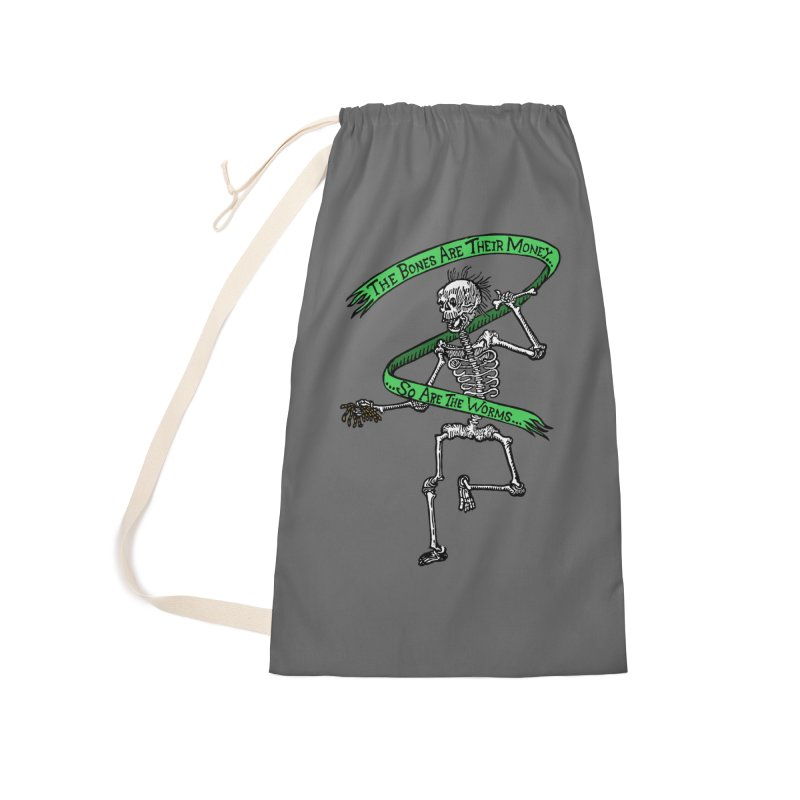 The Night the Skeletons Came to Life Accessories Laundry Bag Bag by The Corey Press