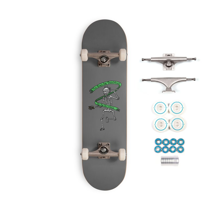 The Night the Skeletons Came to Life Accessories Complete - Basic Skateboard by The Corey Press