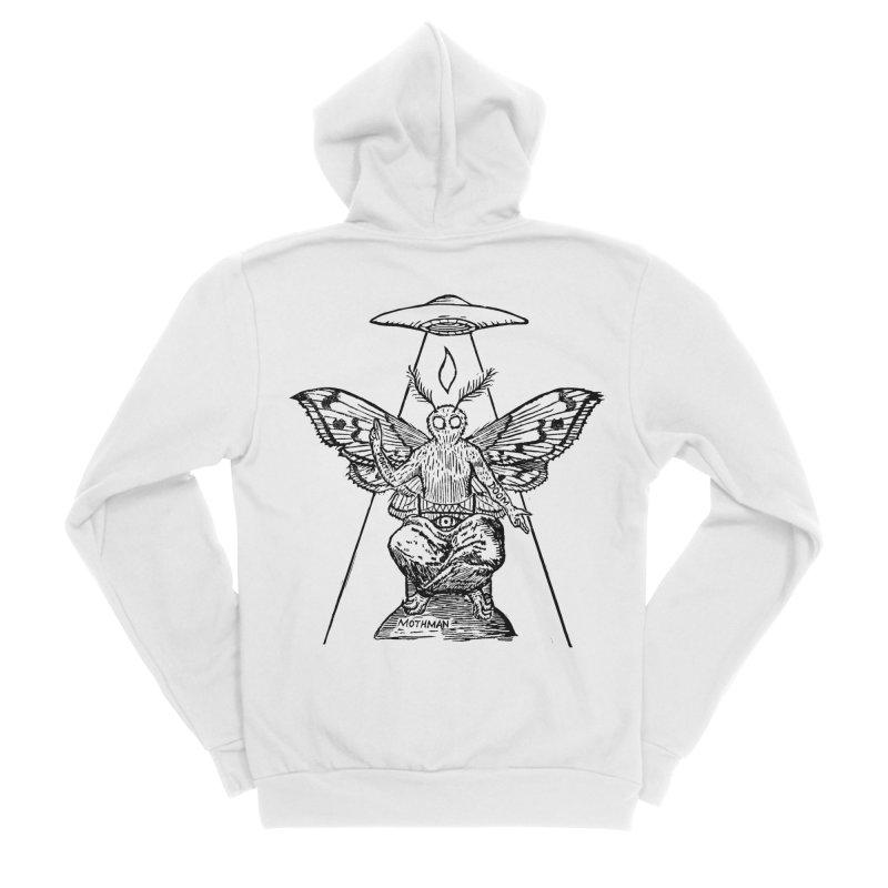 Mothomet! Men's Sponge Fleece Zip-Up Hoody by The Corey Press