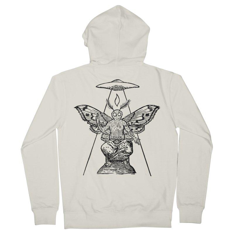 Mothomet! Men's Zip-Up Hoody by The Corey Press