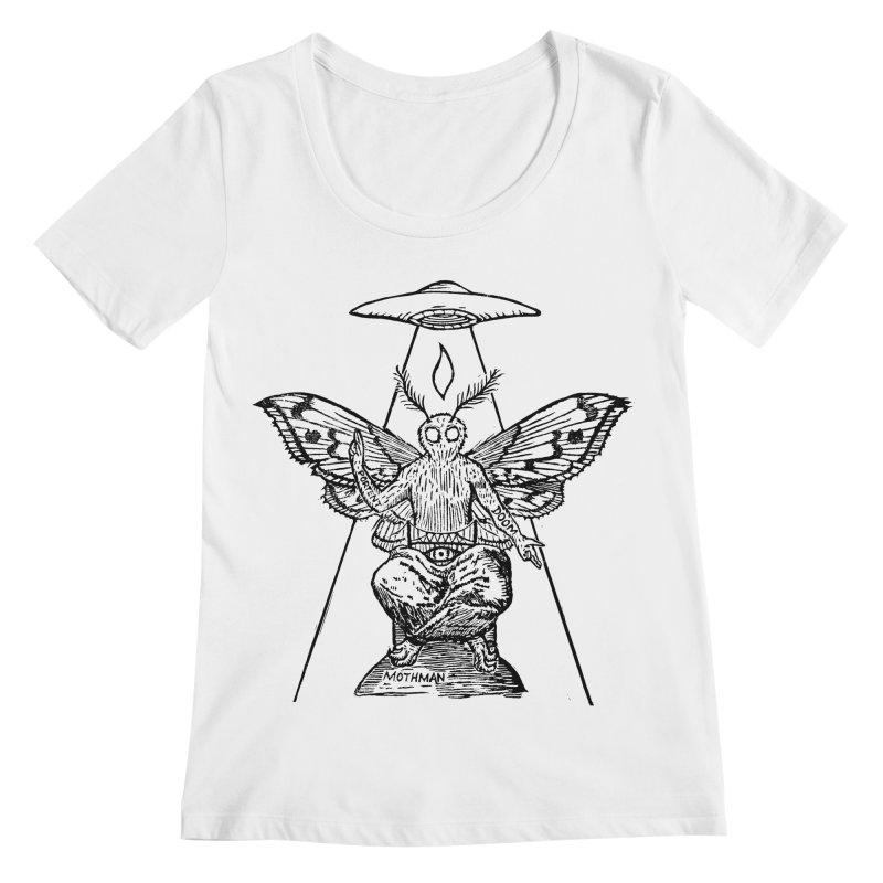 Mothomet! Women's Regular Scoop Neck by The Corey Press