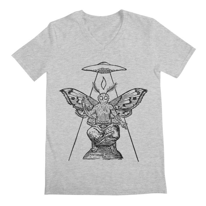 Mothomet! Men's Regular V-Neck by The Corey Press