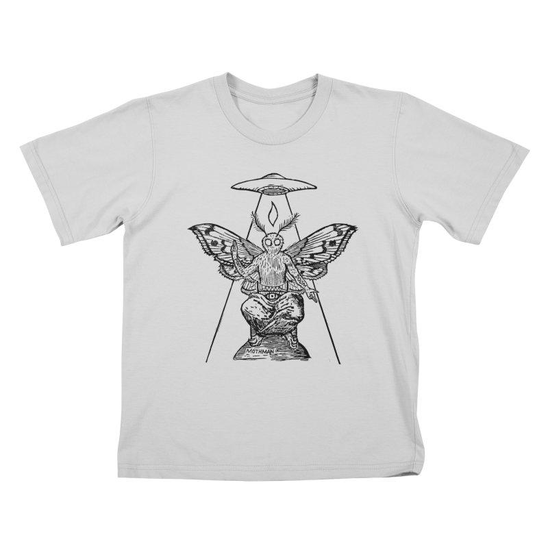 Mothomet! Kids T-Shirt by The Corey Press