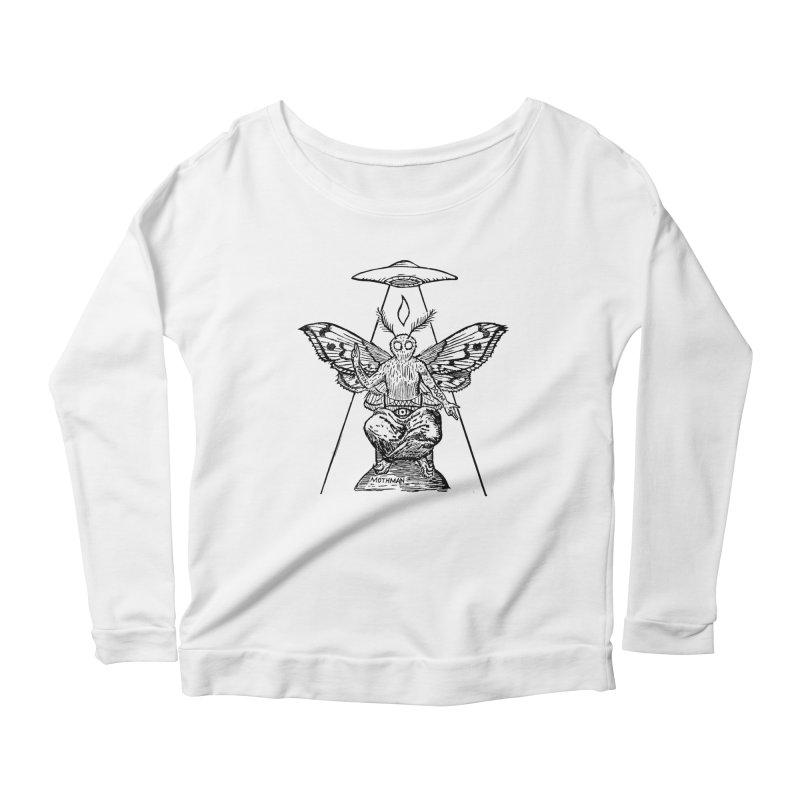 Mothomet! Women's Scoop Neck Longsleeve T-Shirt by The Corey Press