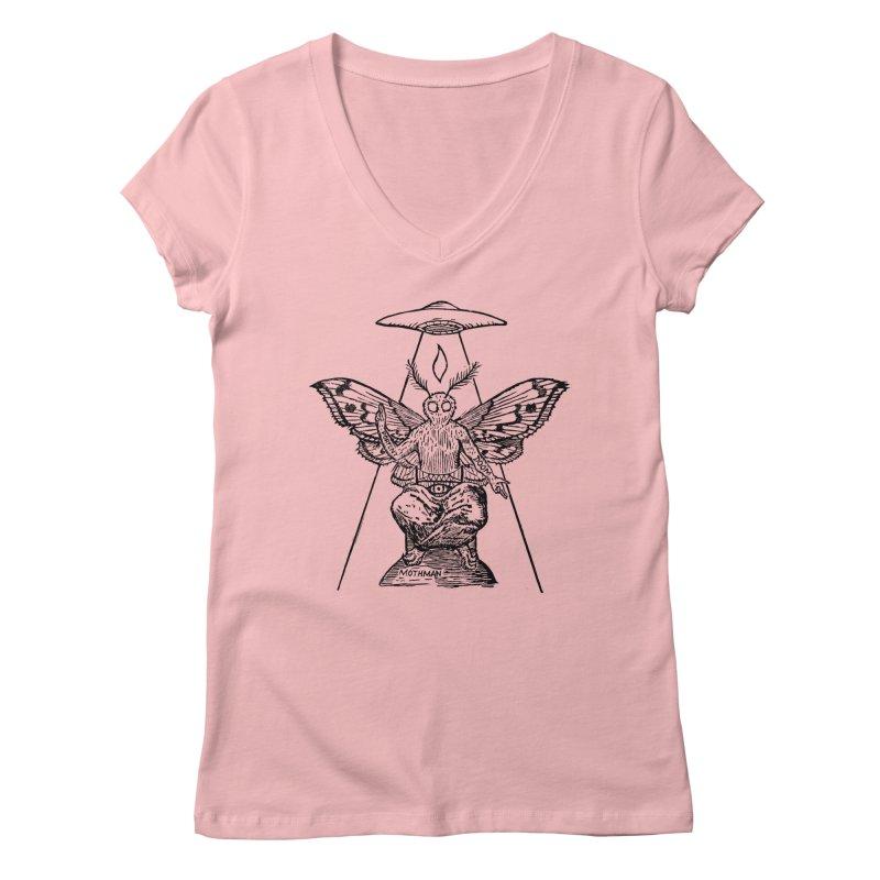Mothomet! Women's Regular V-Neck by The Corey Press